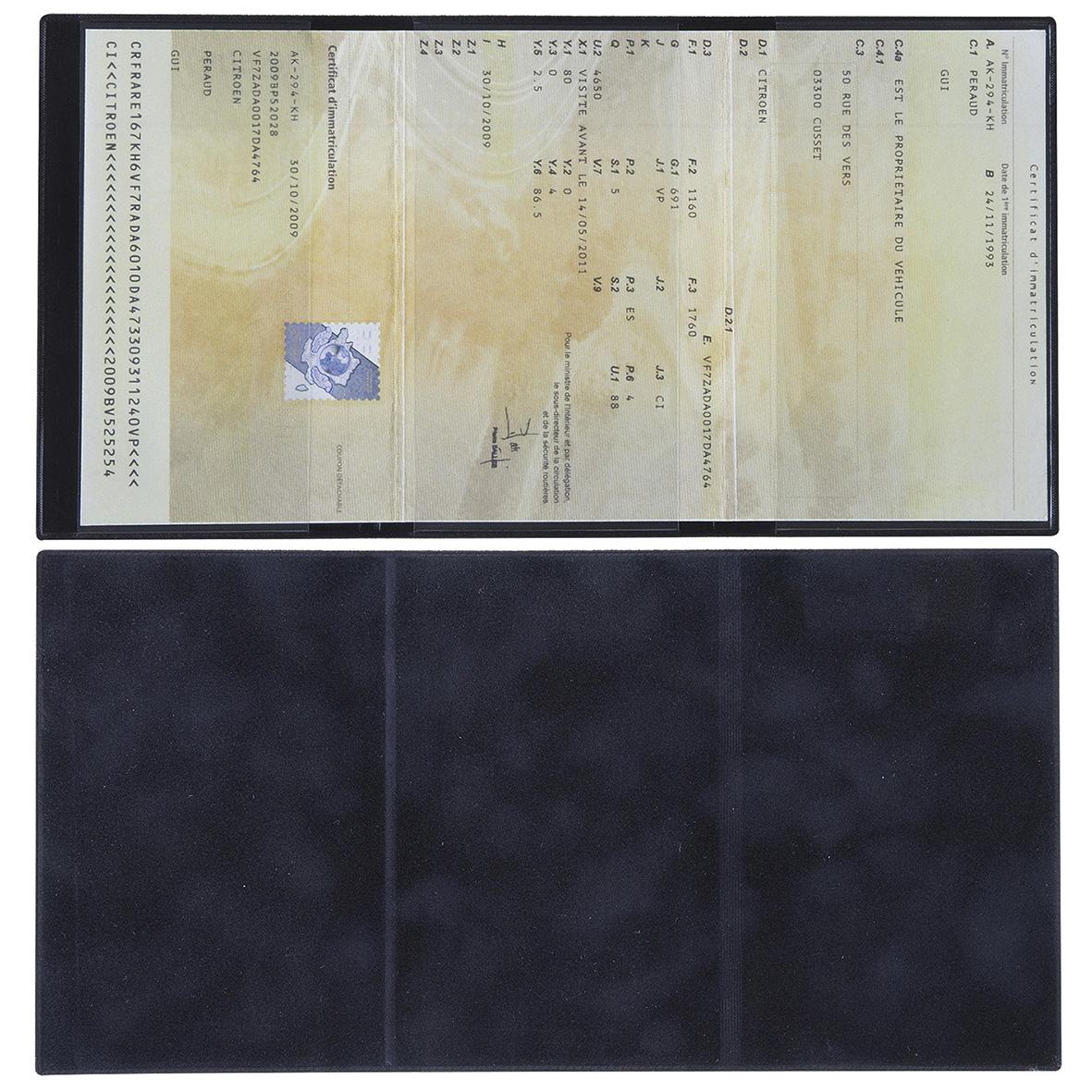 porte carte grise made in france cotwa39a objets publicitaires pour automobiles fabriqu s en. Black Bedroom Furniture Sets. Home Design Ideas