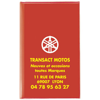 Porte carte grise made in France cotWA40A