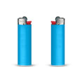 briquet personnalise slim lighter bleu