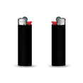 briquet personnalise slim lighter noir