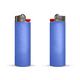 briquet publicitaire maxi lighter bleu