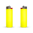 briquet publicitaire maxi lighter jaune