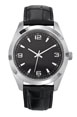 montre homme publicitaires made in france noir