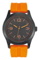 montre personnalisee homme fabrication francaise orange