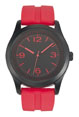 montre personnalisee homme fabrication francaise rouge