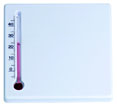 thermometres personnalisables paspv blanc