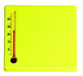 thermometres personnalisables paspv jaune